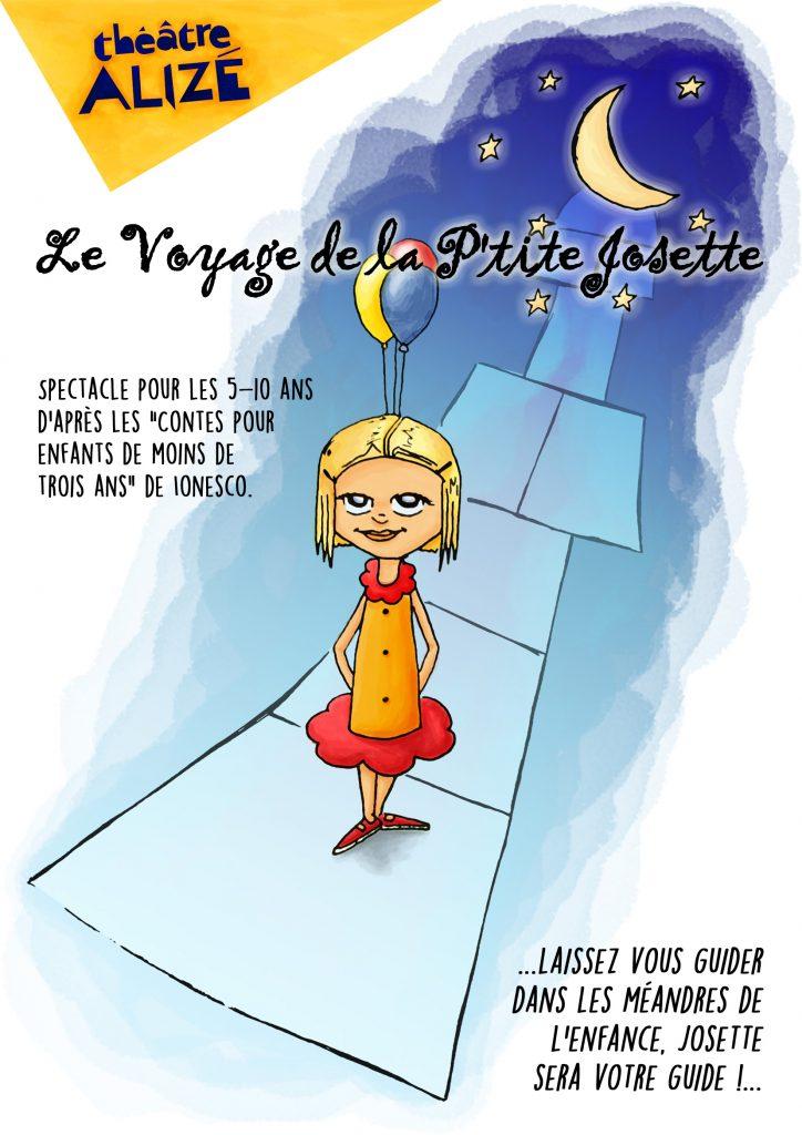 Affiche - Voyage de la petite Josette