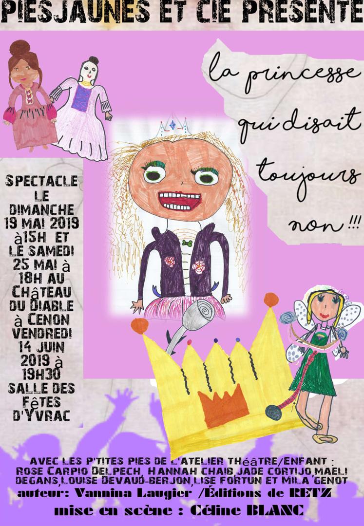 «La princesse qui disait toujours non» de Vannina LAUGIER aux Editions de RETZ