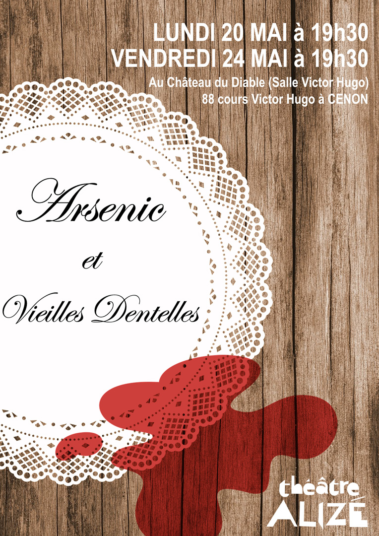 «Arsenic et vieilles dentelles» de Joseph KESSELRING