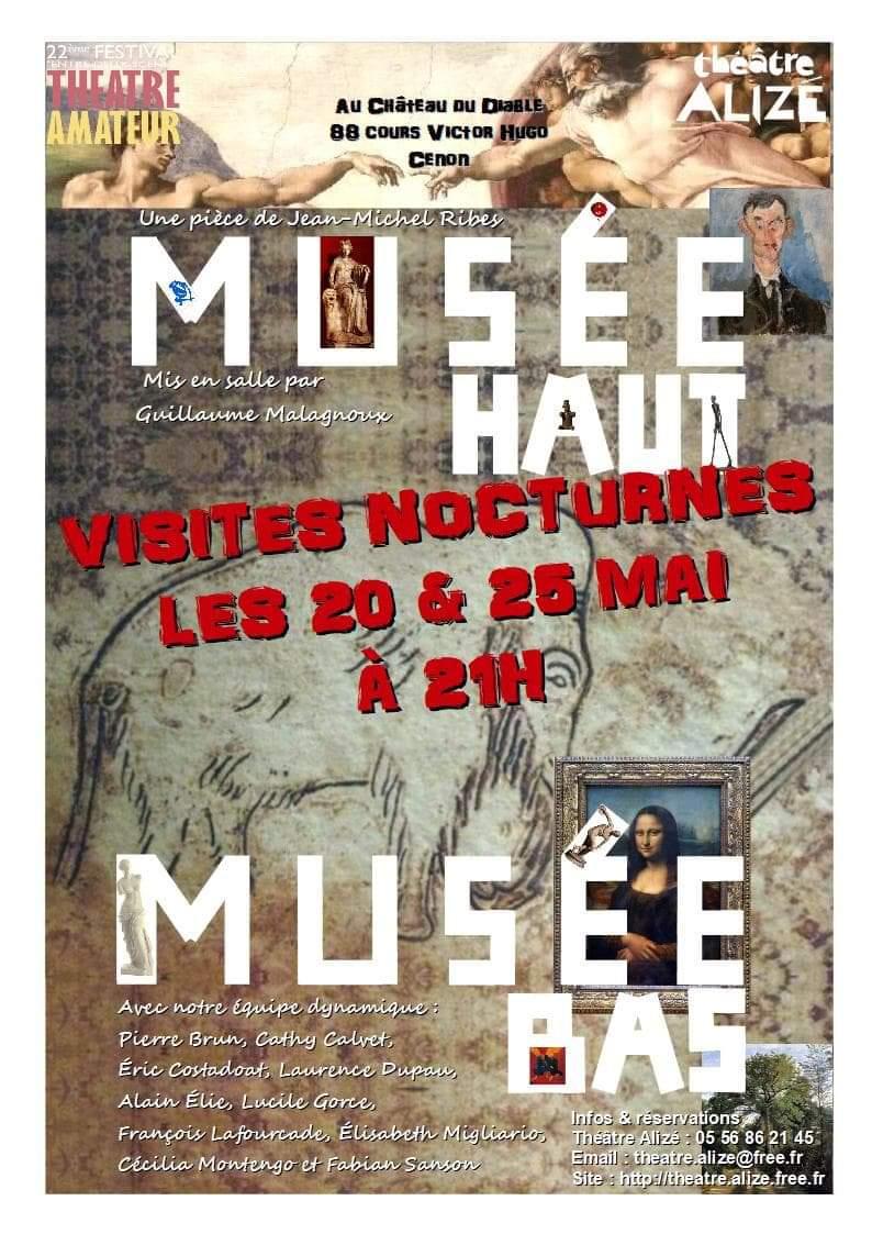 «Musée haut, musée bas» de Jean-Michel RIBES