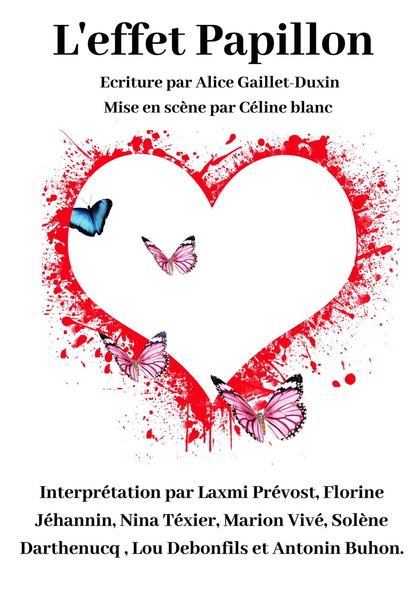 «L'effet papillon» de Alice GAILLET-DUXIN