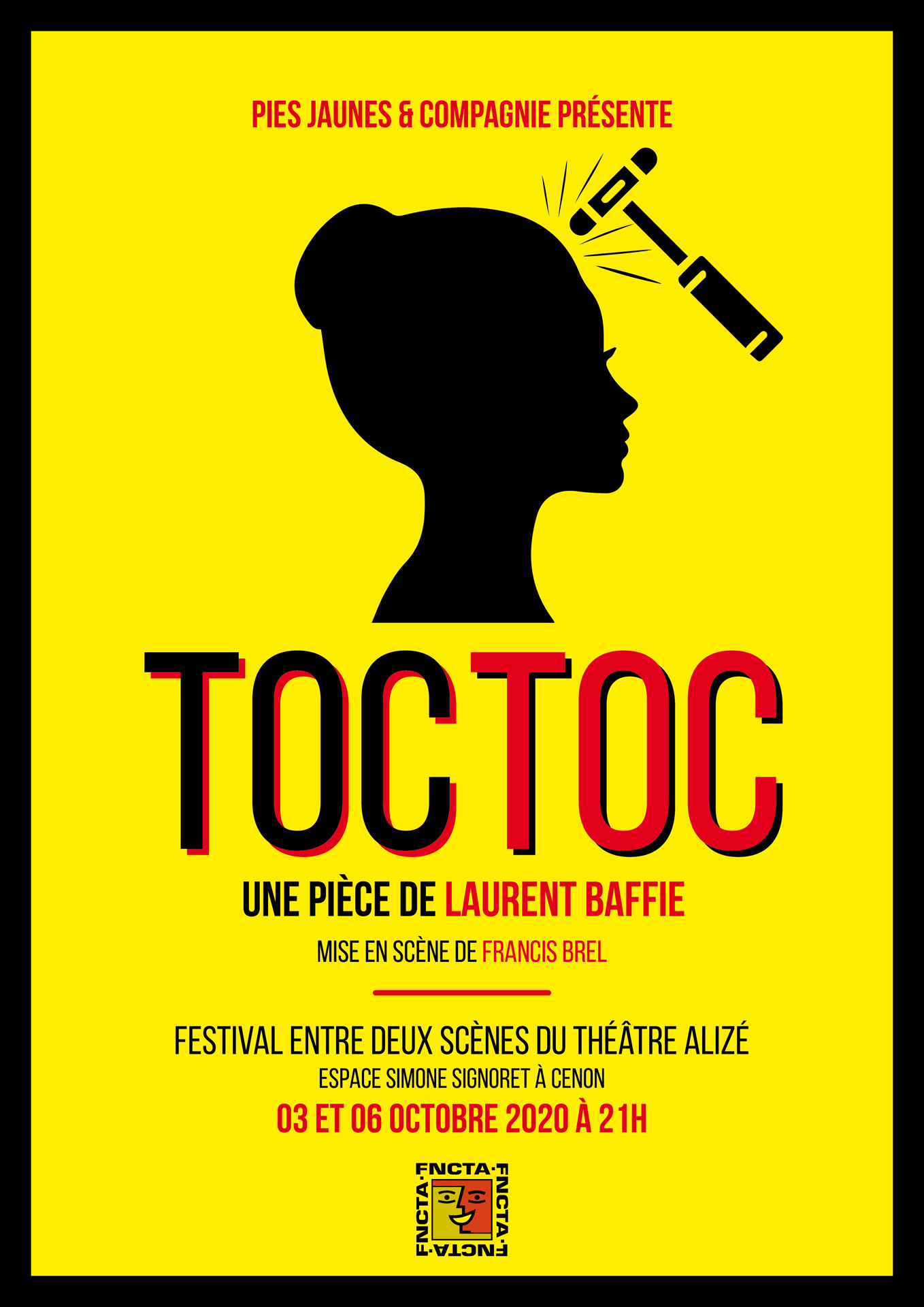 « Toc Toc » de Laurent BAFFIE