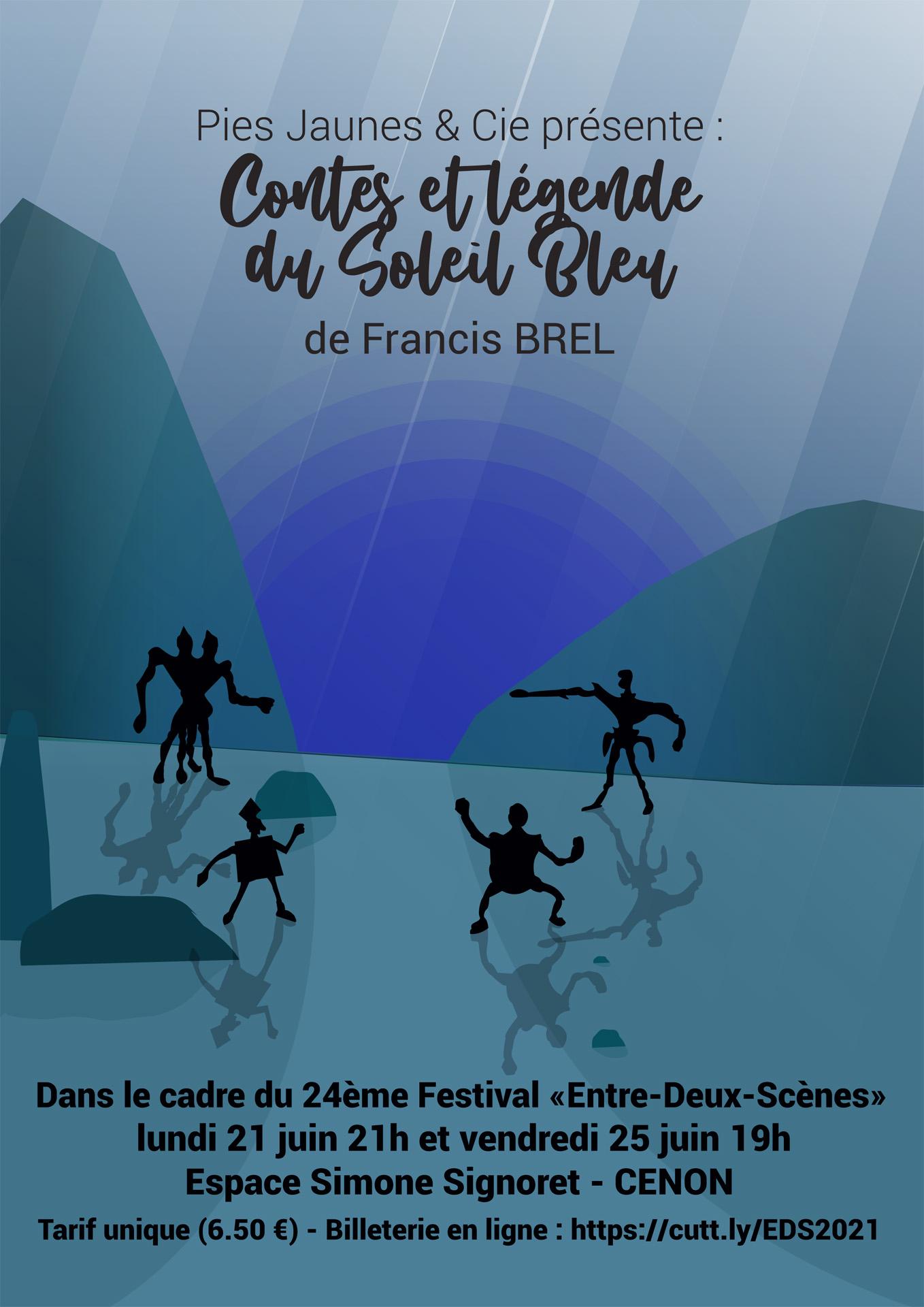 «Contes et légende du soleil bleu» de Francis BREL