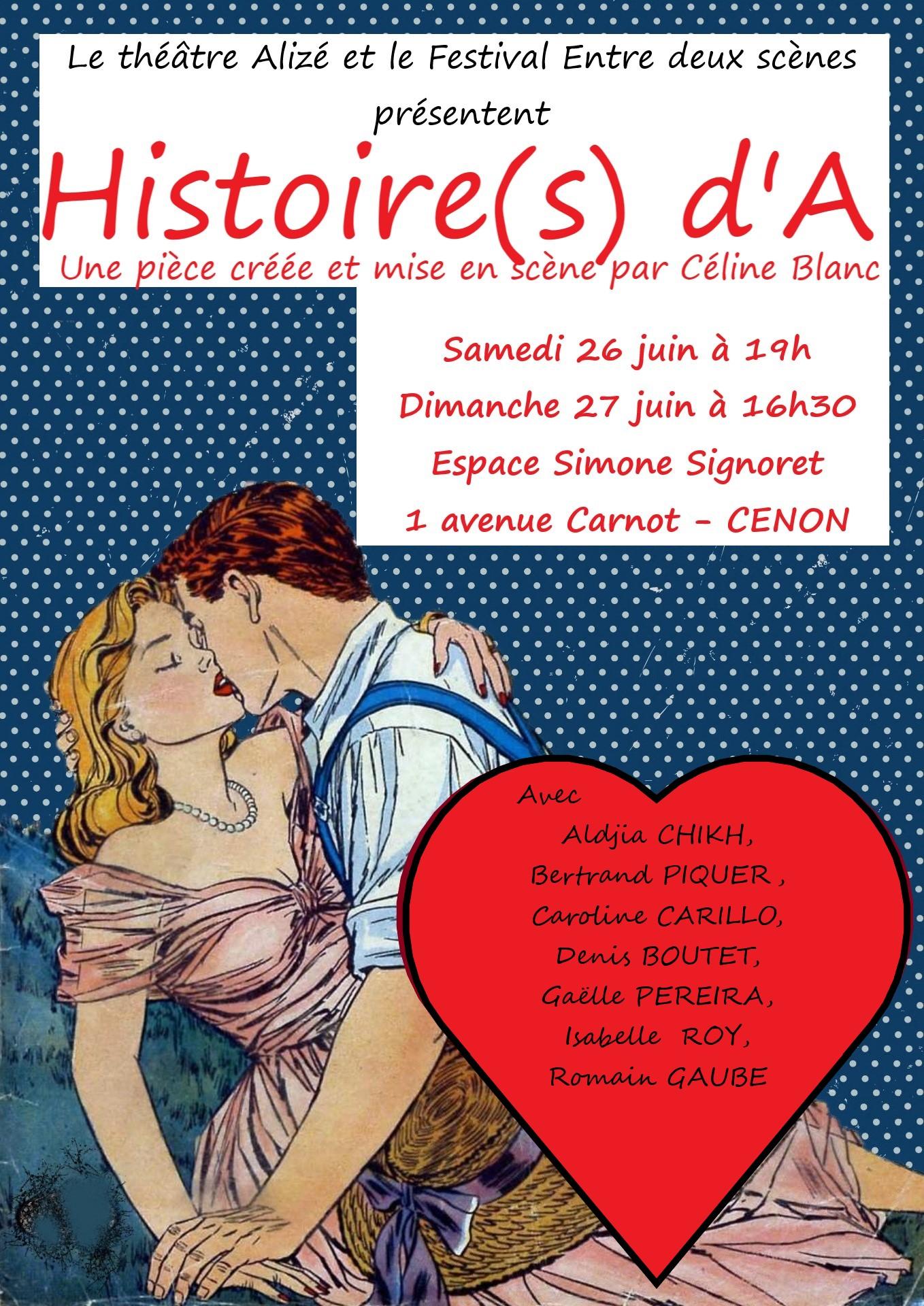 «Histoire(s) d'A» de Céline BLANC